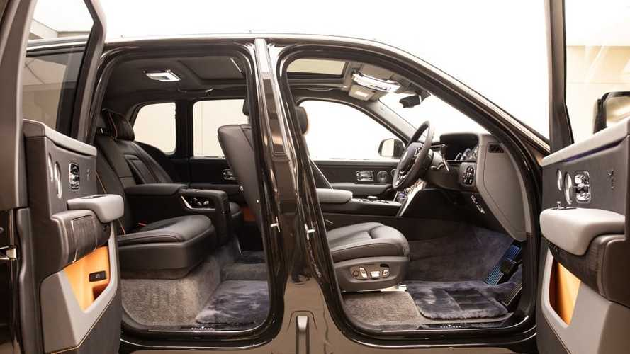 Эскизы пикапа Rolls-Royce Cullinan: