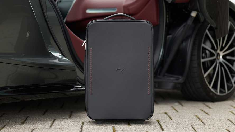 McLaren luxury luggage set