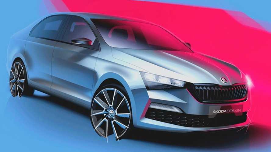 2020 Skoda Rapid Looks Sharp In New Official Teasers