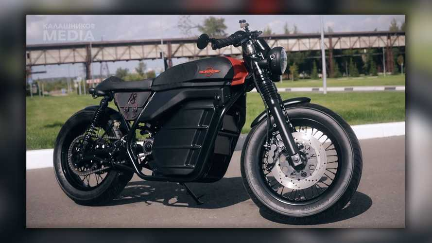 From Bullets To Bikes, Kalashnikov Introduces Café Racer Concept