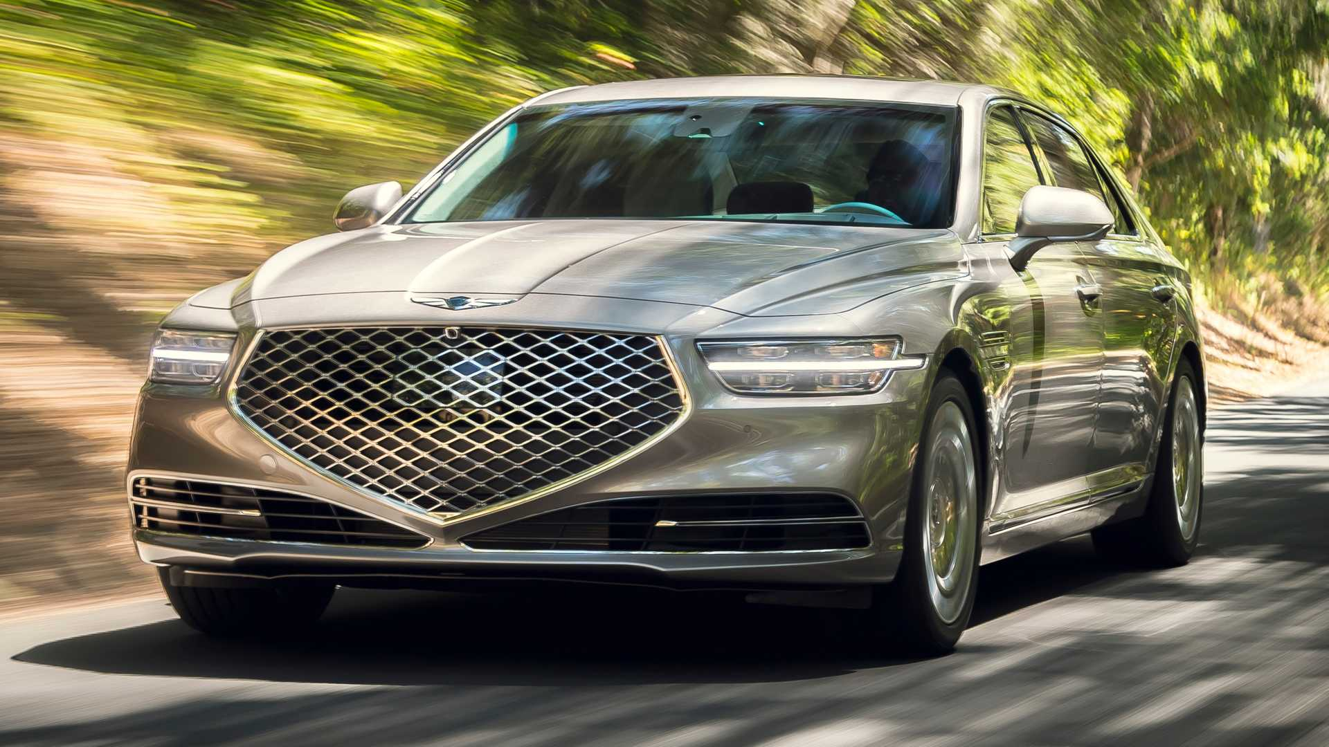 2020 Los Angeles Auto Show.2020 Genesis G90 Brings Its Major Facelift To Los Angeles
