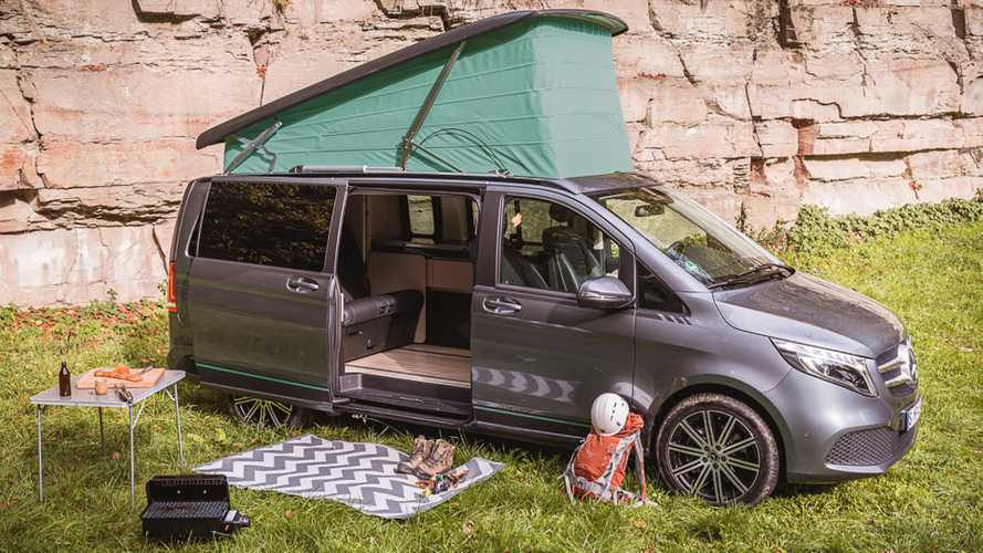 Mercedes ArtVenture celebrates 35 years of Marco Polo campers