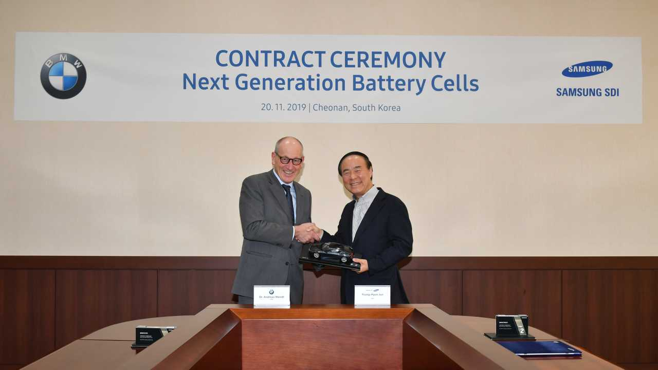 BMW Group Extends Battery Contract With Samsung SDI