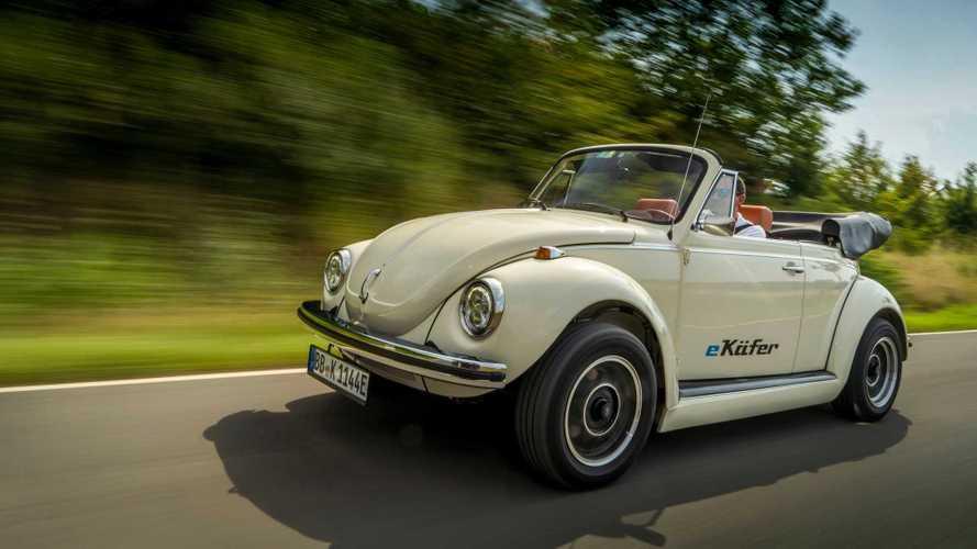 Volkswagen e-Beetle, el 'Escarabajo' 100% eléctrico