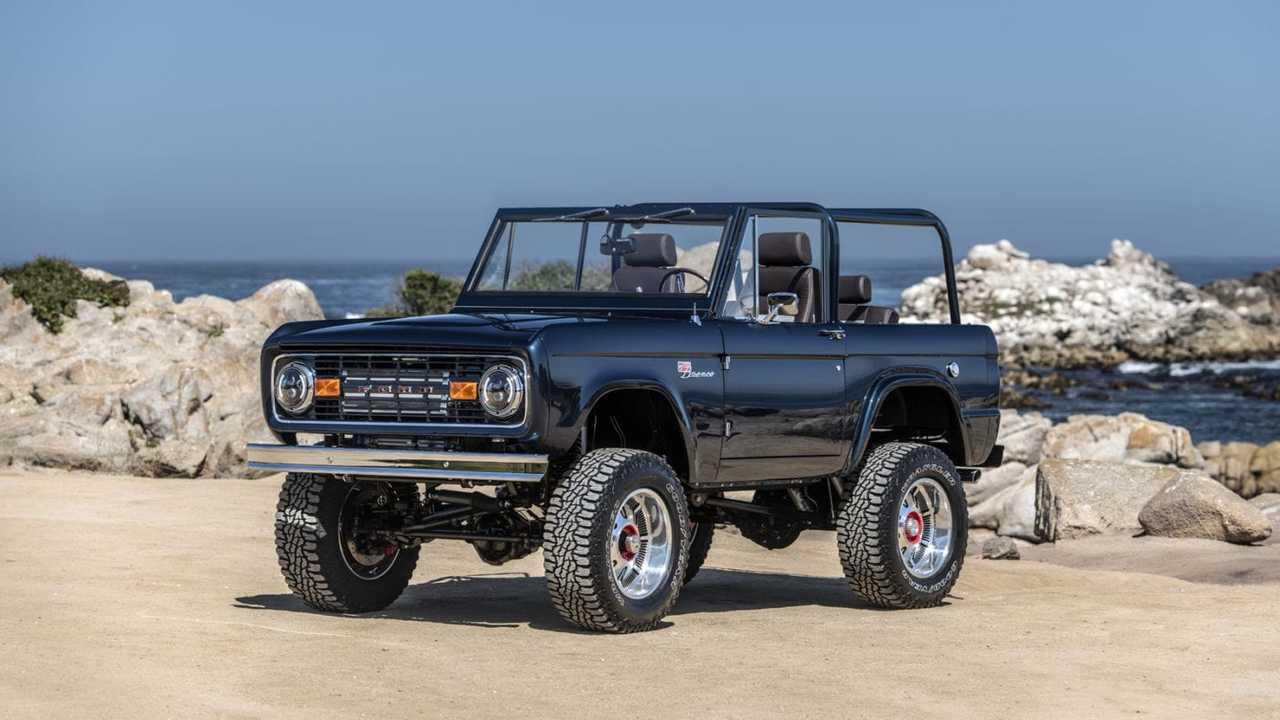 Ryan Blaney\'s Charity Bronco Unveiled At Monterey