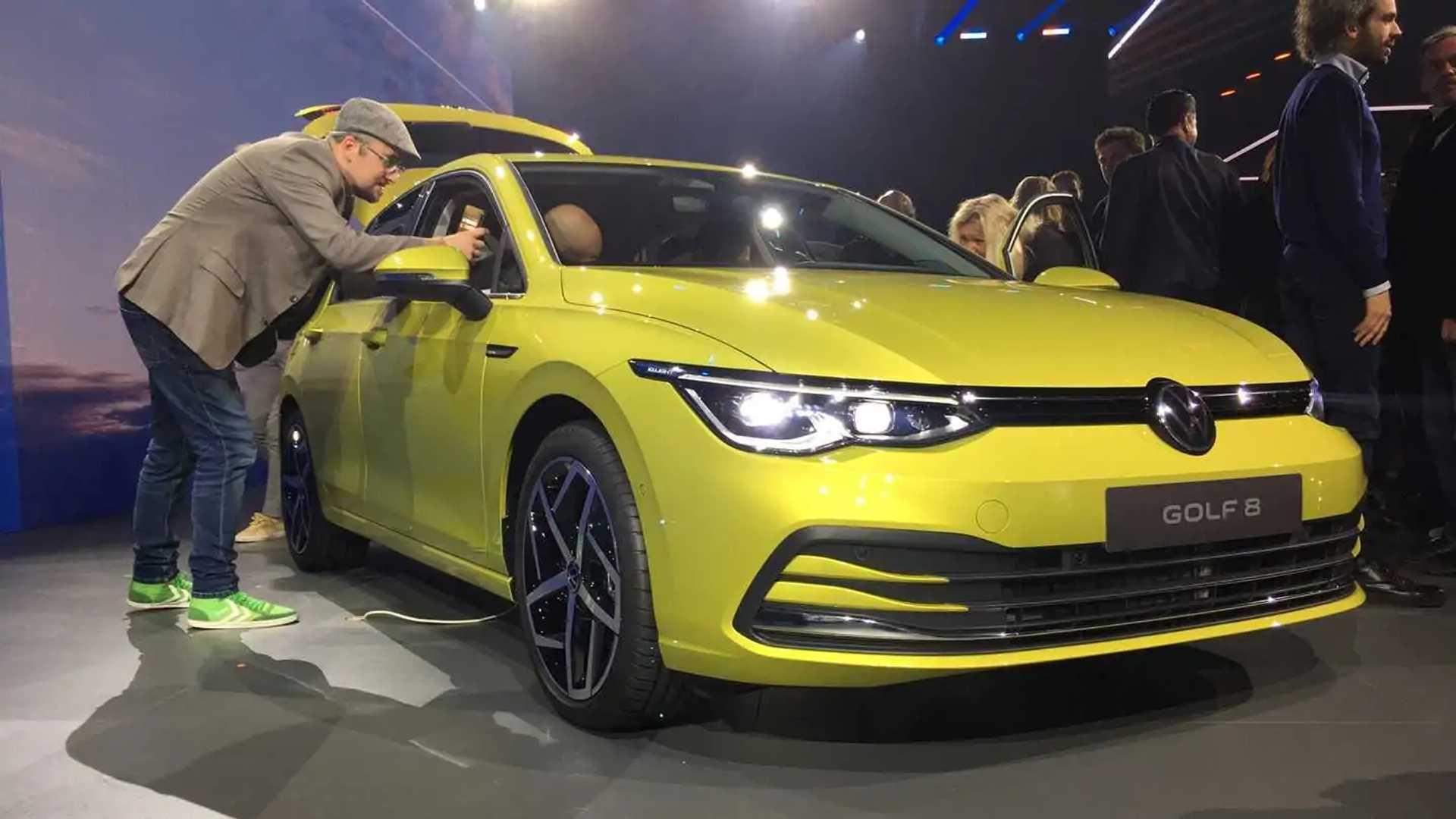 VW Golf VIII (2019)
