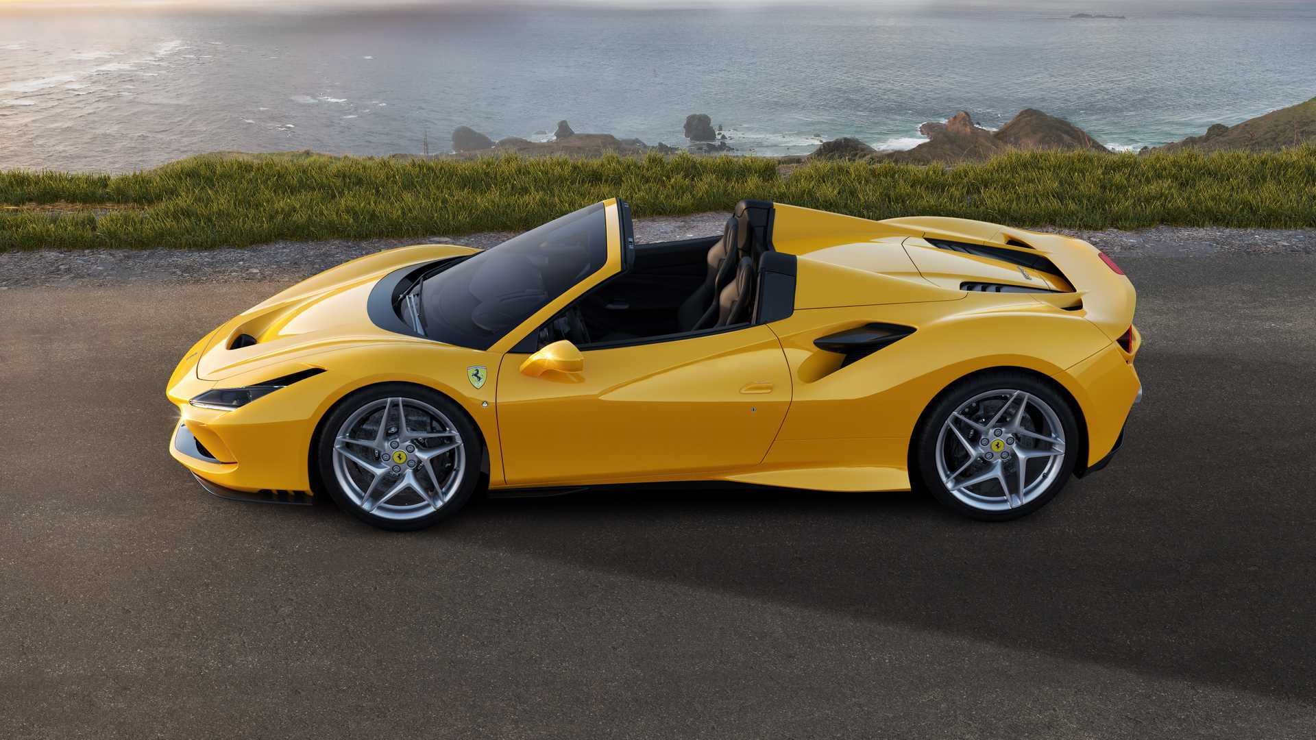 Ferrari F8 Spider Revealed More Power Less Weight Than 488 Spider