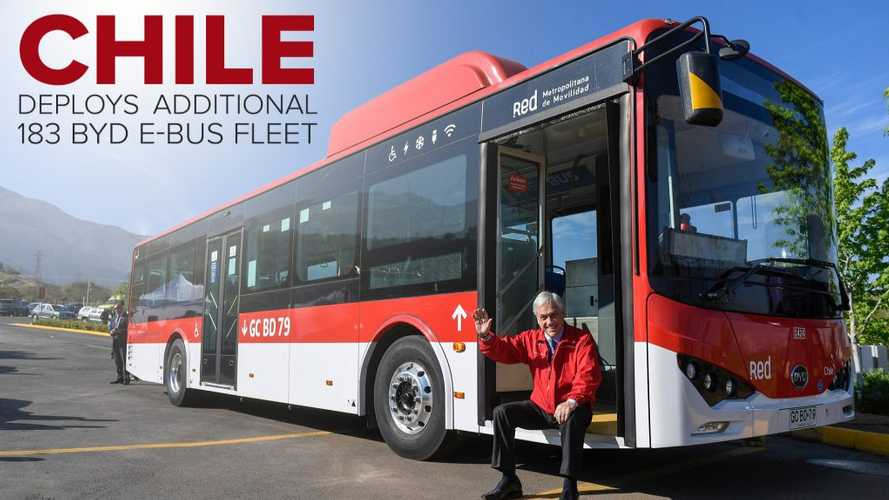 Chile Launches Latin America's First 100% Electric Bus Corridor