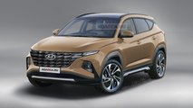 Hyundai Tucson (2020) in neuem Rendering
