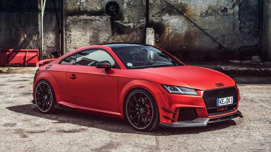 Audi TT RS: más potencia, gracias a ABT
