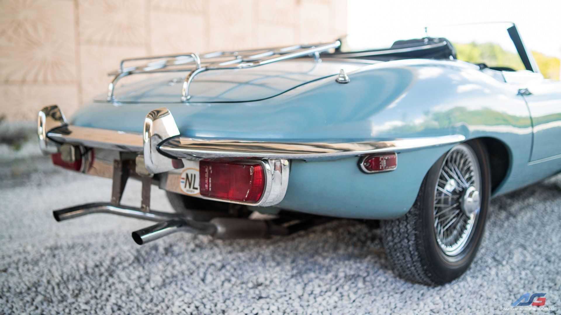 Survivor 1970 Jaguar E-Type Will Put A Smile On Your Face