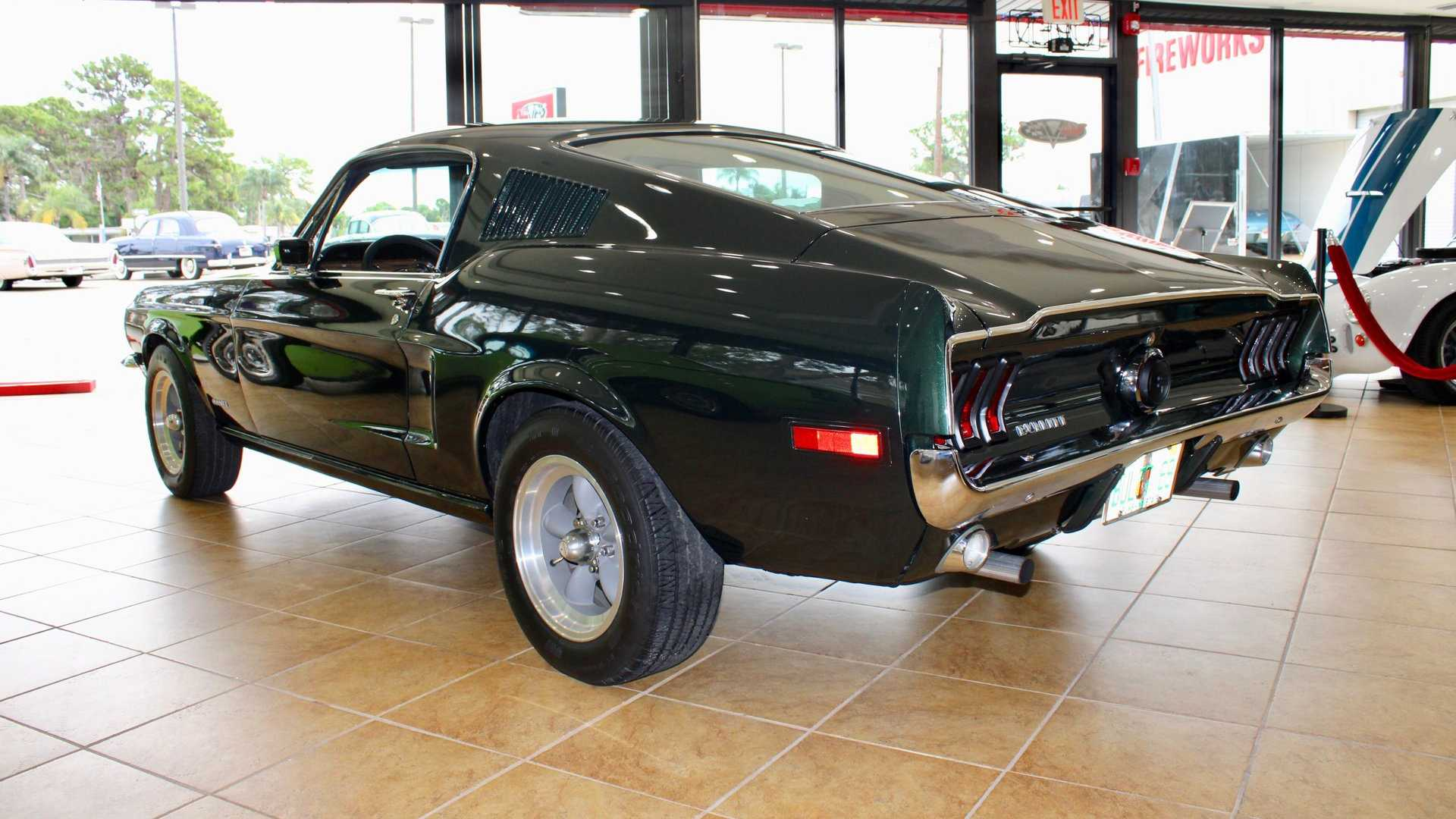 "[""Detailed 1968 Ford Mustang Bullitt Replica Up For Sale""]"