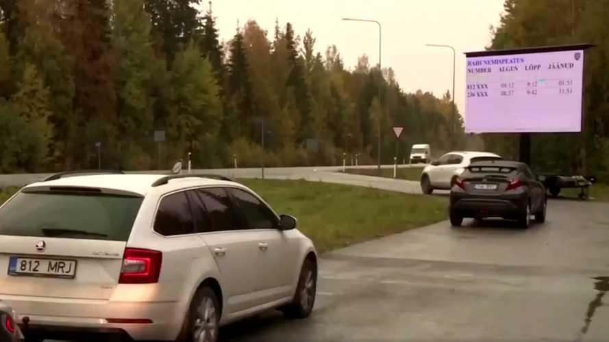 L'Estonie teste le Stop & Go au lieu des amendes