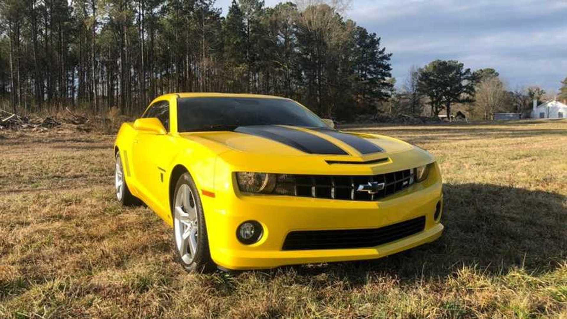 "[""2010 Chevrolet Camaro SS Transformers Edition""]"
