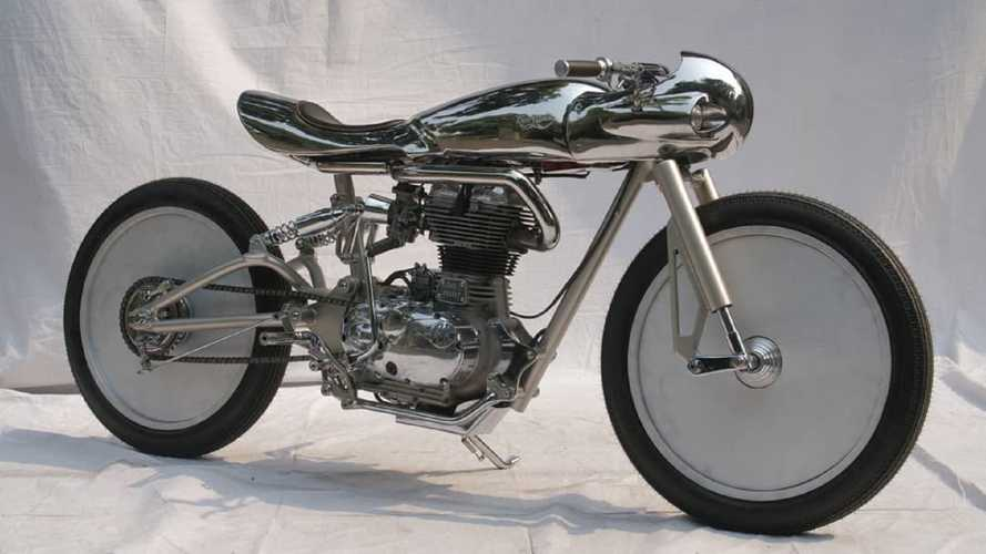 This Café Racer Looks Like A 1950s Pizza Cutter