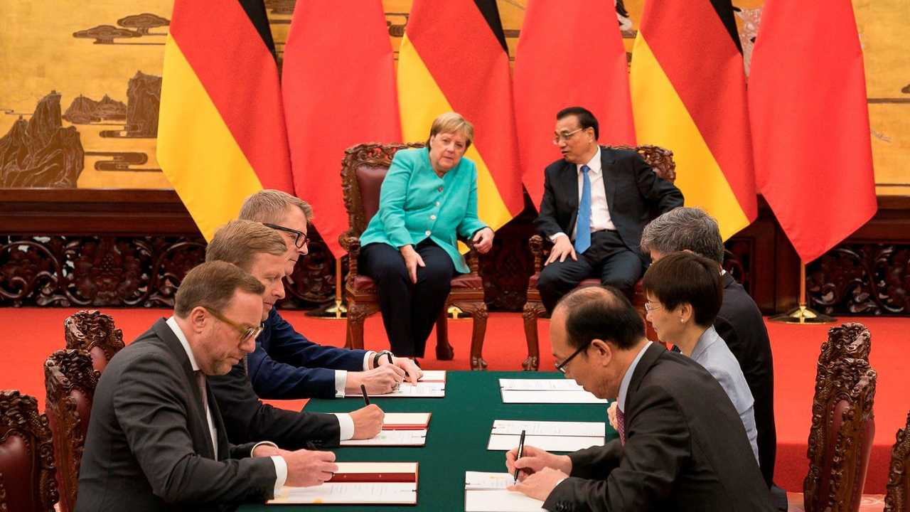 Chery and StreetScooter Establish Joint Venture in Sino-Germany Signing Ceremony with A Few Agreements Signed for Trade and Economic Cooperation