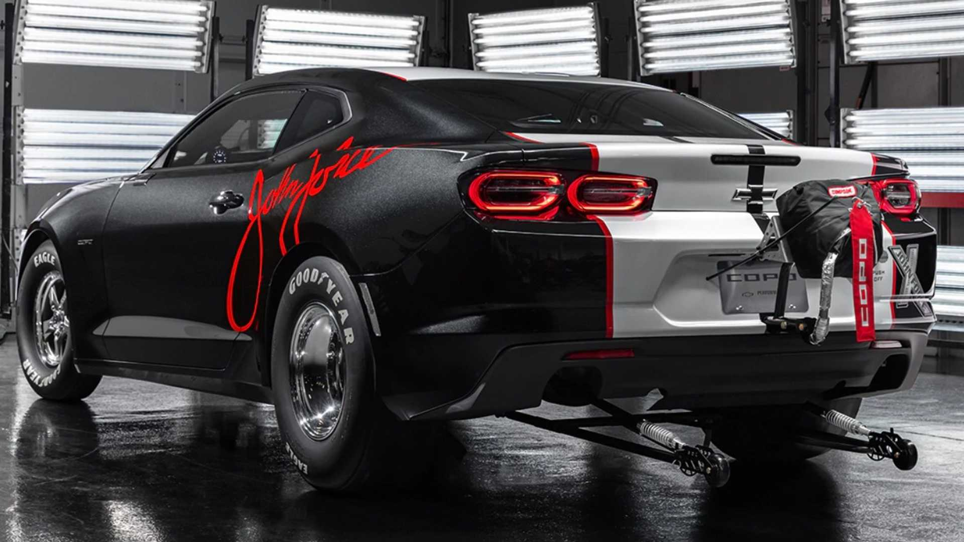 "[""2020 COPO Camaro John Force Ed""]"
