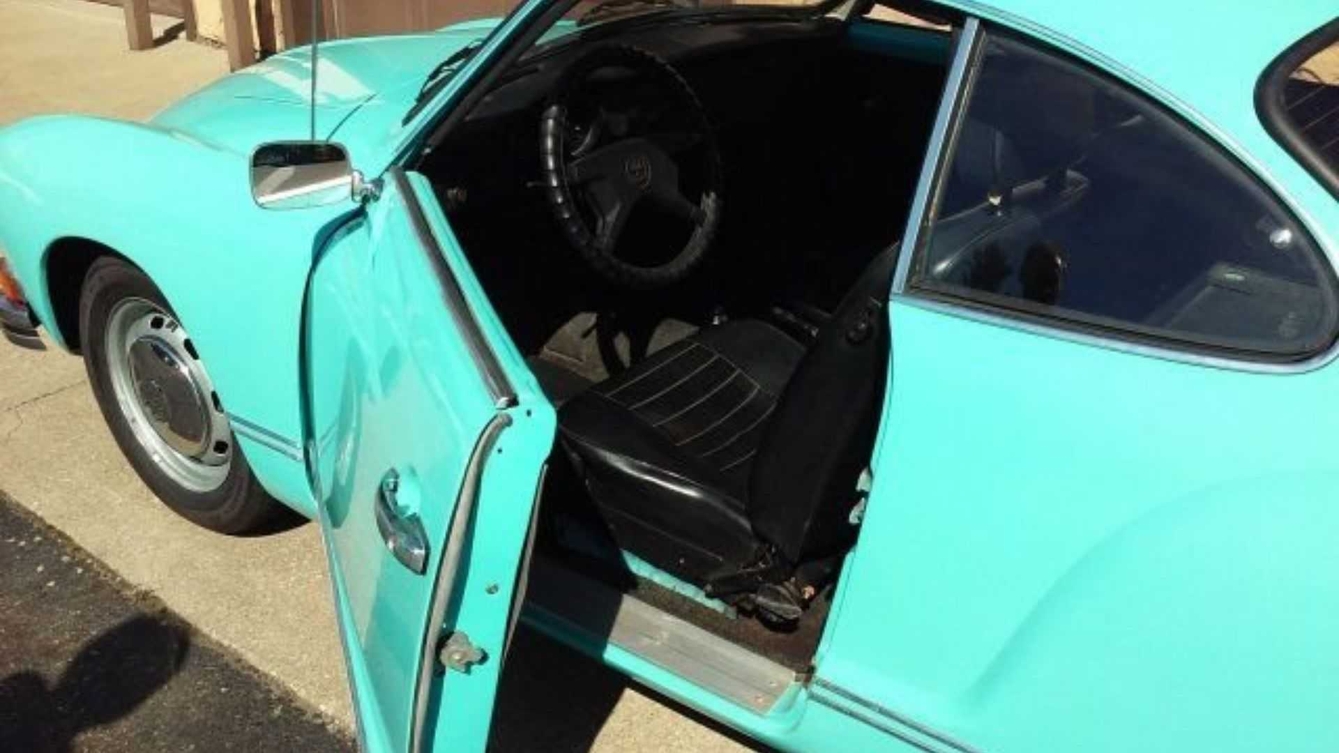"[""1974 Volkswagen Karmann Ghia Selling At No Reserve""]"