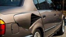Dieser BMW 7er (E32) hatte einen V16-Motor und Mega-Kiemen