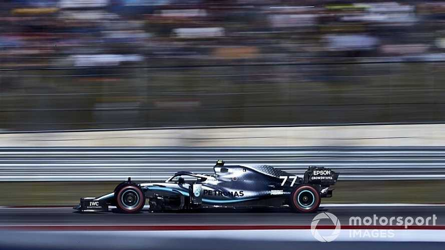 F1: Bottas vence nos EUA, mas Hamilton é 2º e conquista o hexa