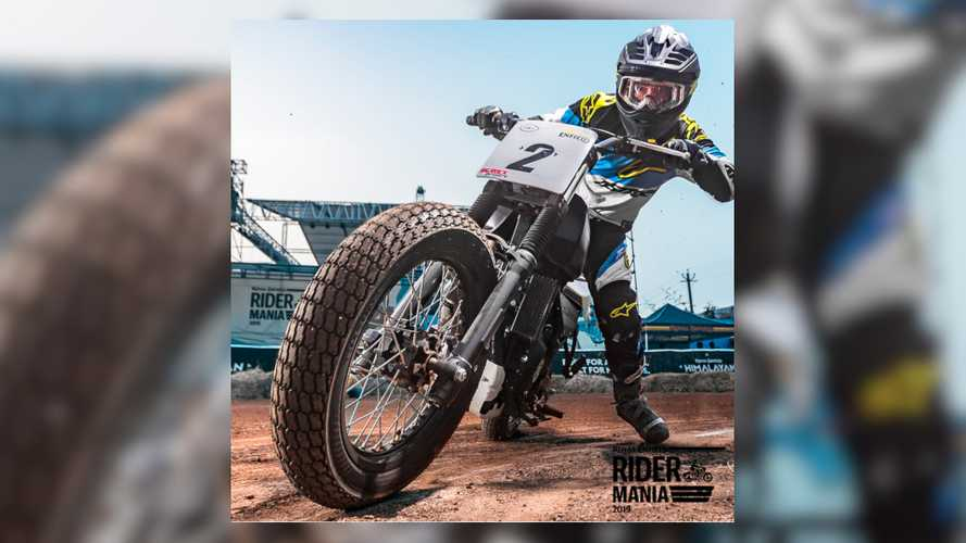 This Royal Enfield Himalayan Is Flat-Track Ready And So Are We