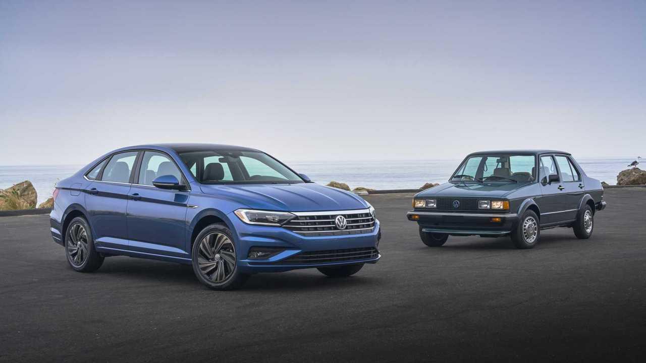 Evolution of the Volkswagen Jetta