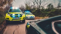 Ford Focus ST and Ranger Raptor UK police cars