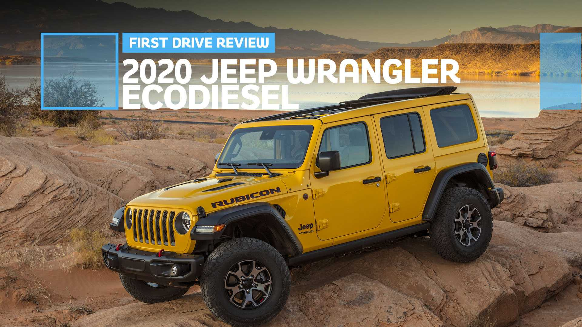 2020 Jeep Rubicon Ecodiesel For Sale