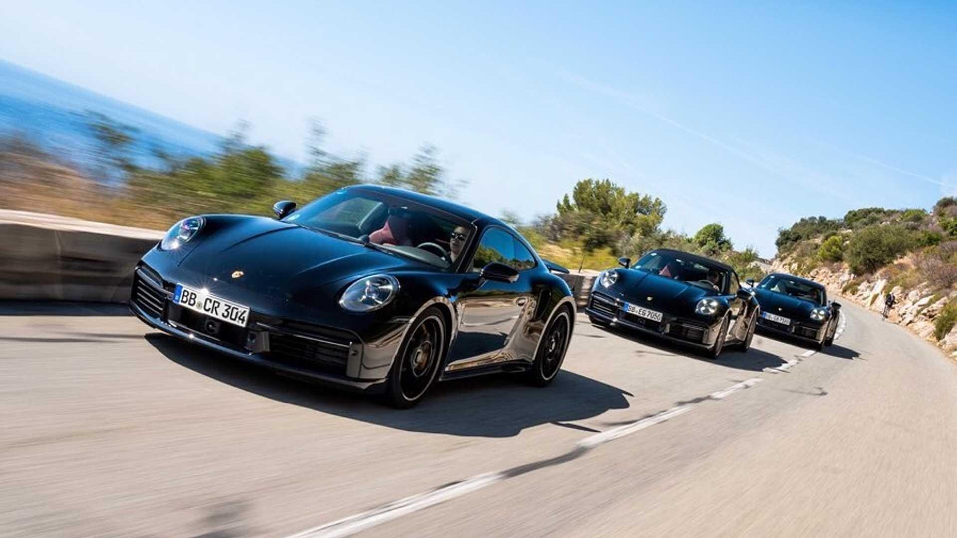 Porsche montre des prototypes de sa 911 Turbo