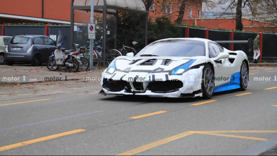 Ferrari prototype spied by Motor1.com reader