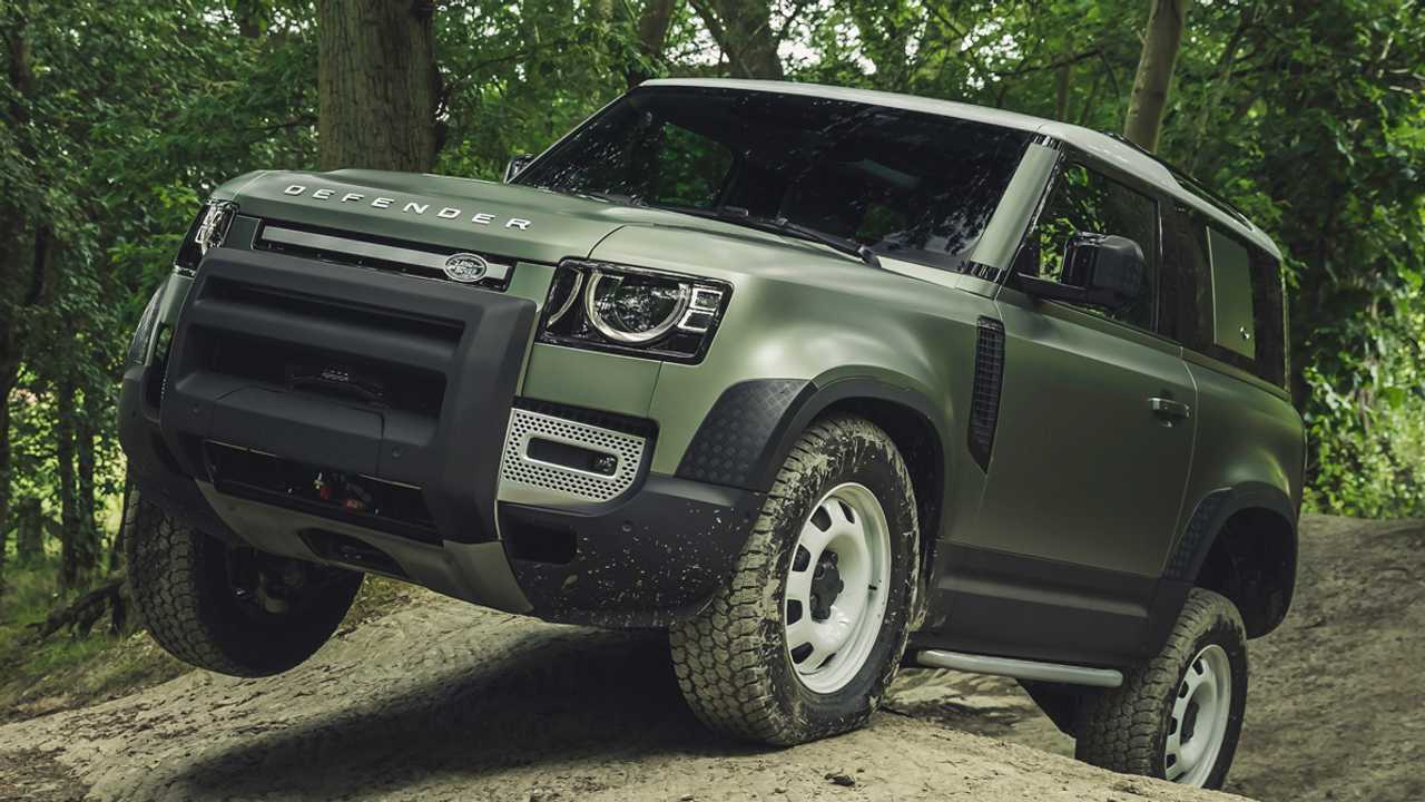 Land Rover Defender 2020 off-road capability