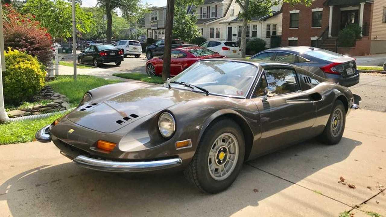 Rare 1973 Ferrari Dino 246 Gts Up For Auction Autoclassics Com Photos