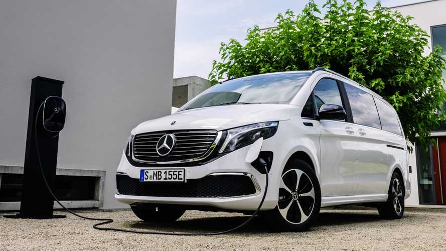Mercedes EQV, il presente del van elettrico