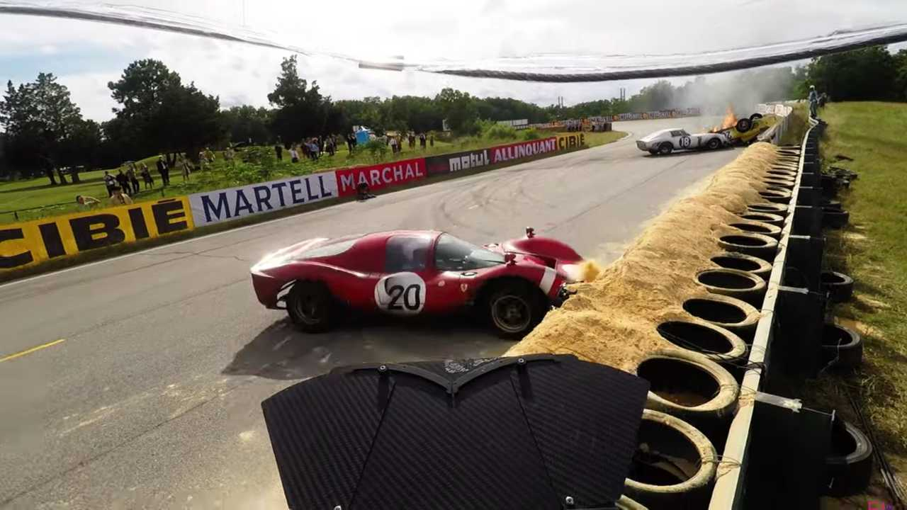 Ford V Ferrari Clips Reveal The Movie Magic Behind Its Stunts