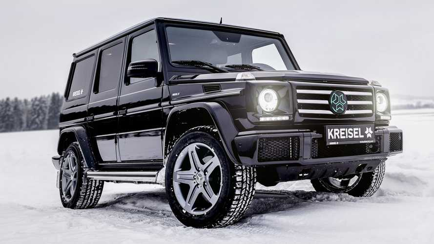 Mercedes G-Class electric version announced