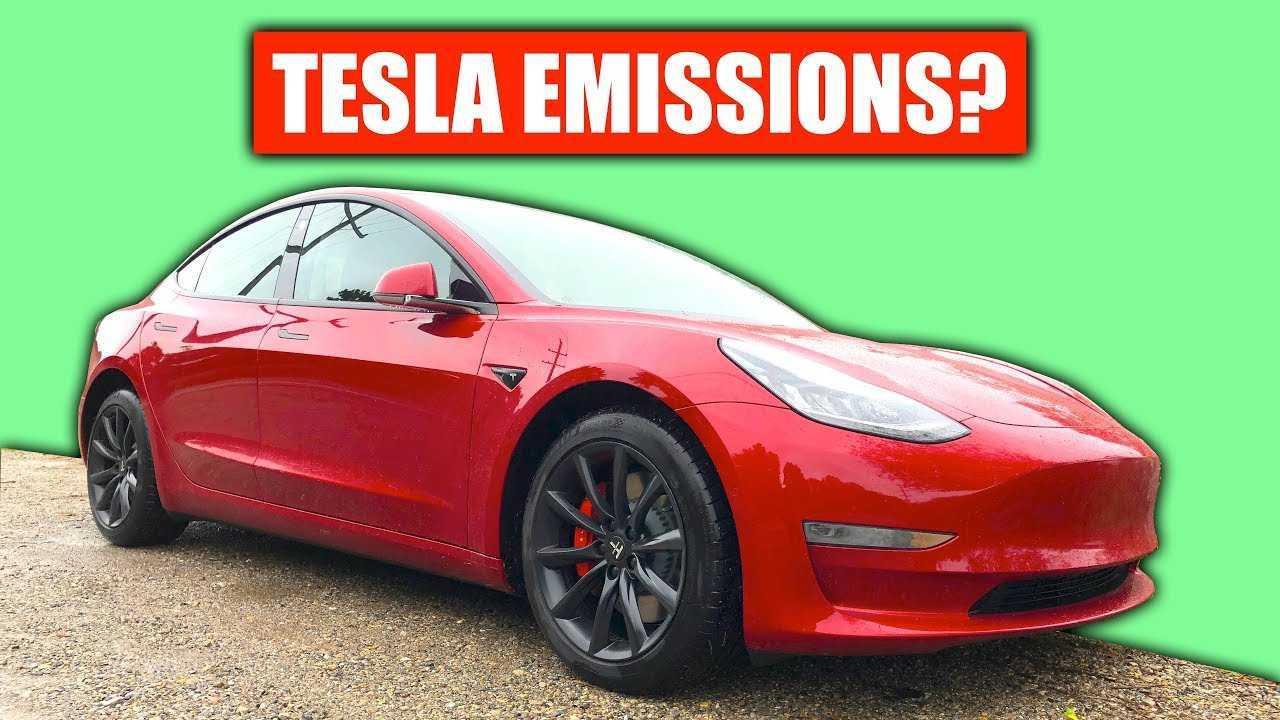 tesla emissions