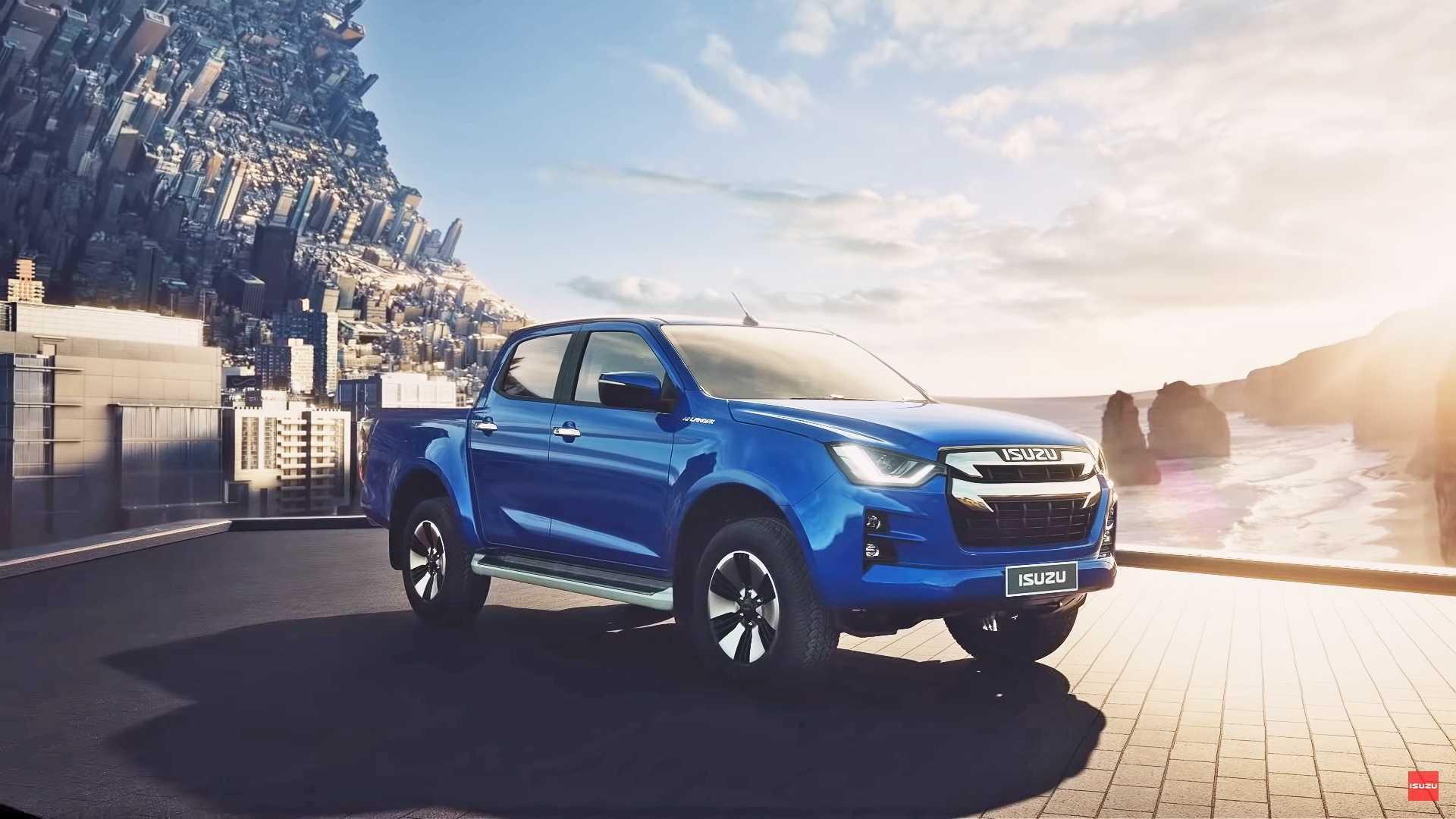 2020 isuzu d max debuts its new truck