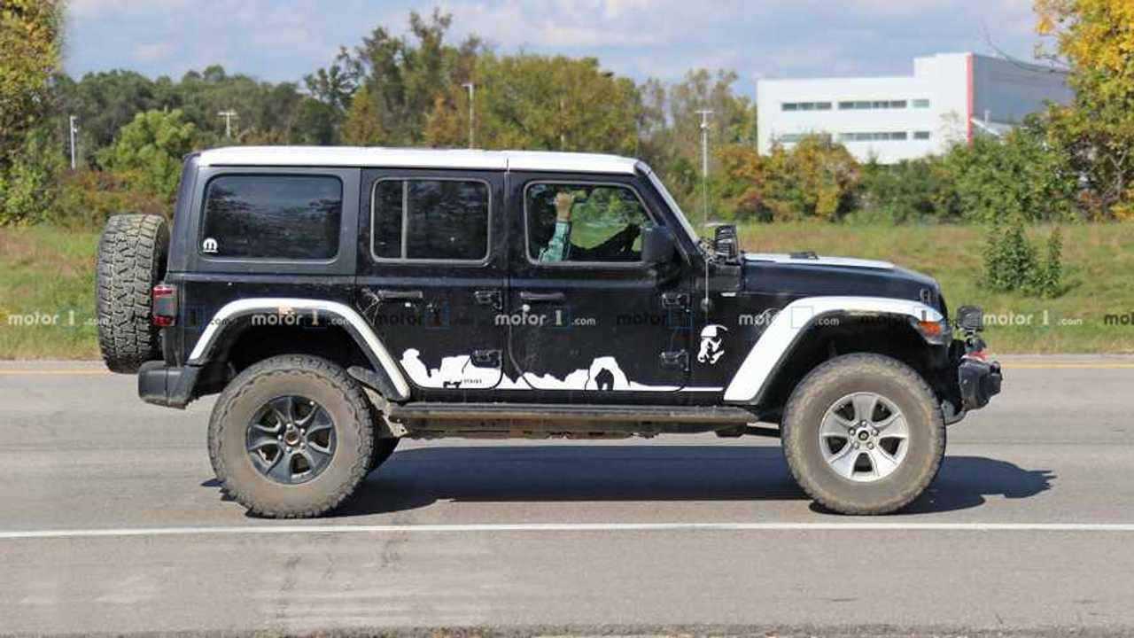 Jeep Wrangler Outline