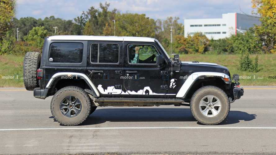 Jeep Wrangler Stormtrooper Edition Spy Shots