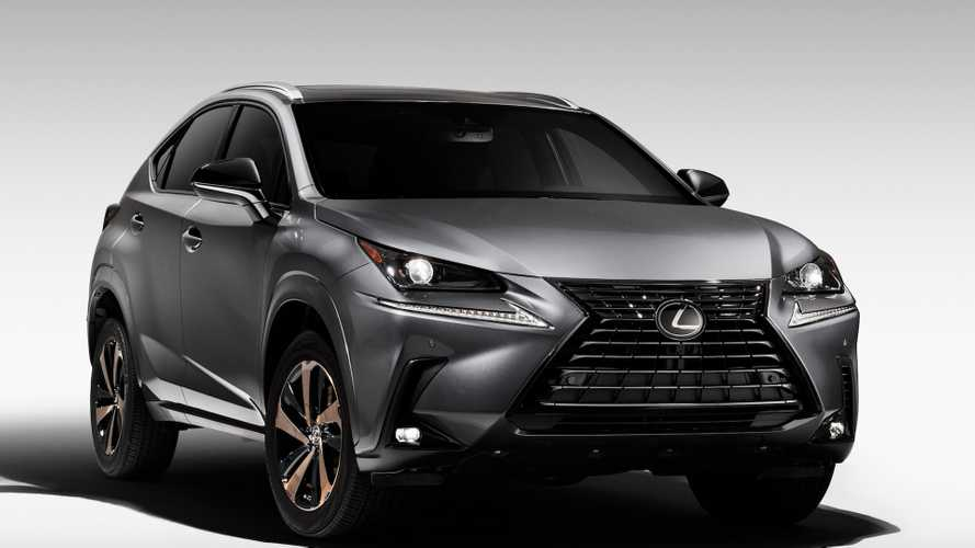Lexus Wants The NX300 To Look Menacing With Black Line Special Edition
