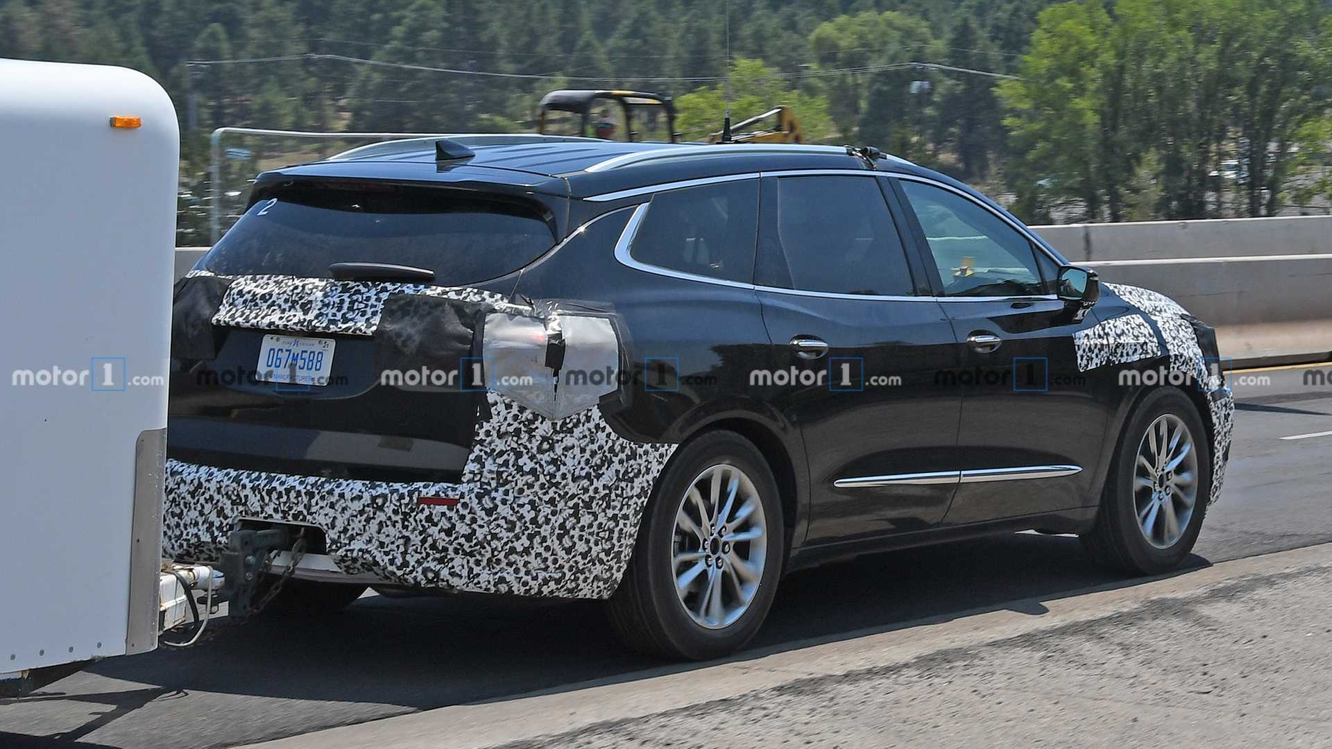 2021 Buick Enclave Spy Photos Speed Test
