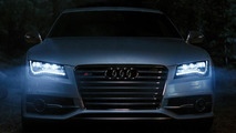 2013 Audi S7 with LED headlights Super Bowl image 17.01.2012