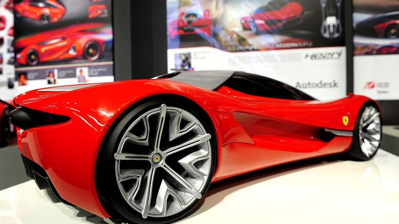 Ferrari Xezri concept , 19.7.2011