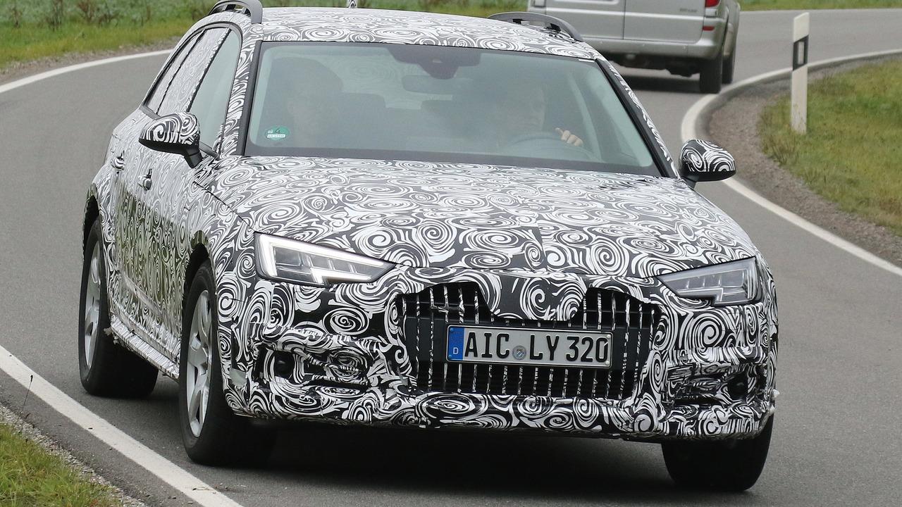 Audi A4 Allroad spy photo