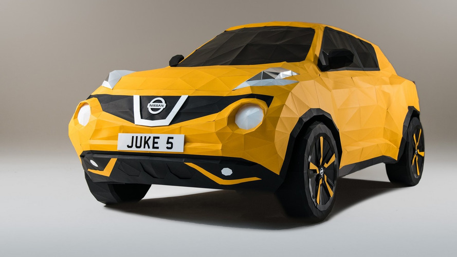 Nissan reveals full-size Juke origami replica to celebrate the model's fifth anniversary [video]