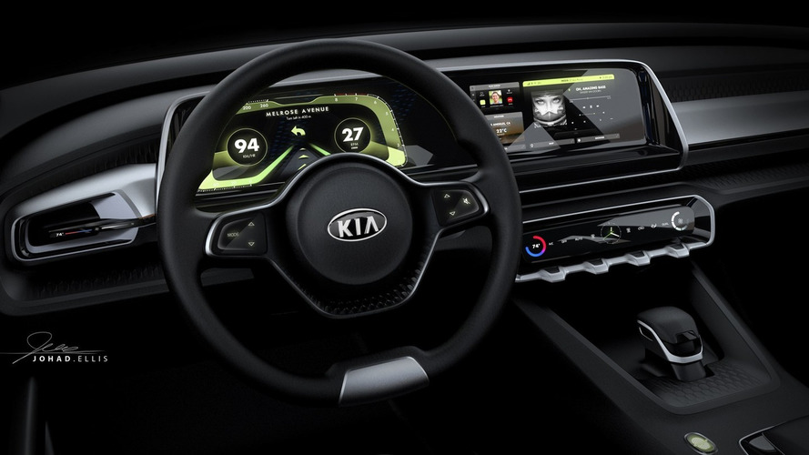 Kia reveals Telluride name and digital dash for big SUV concept