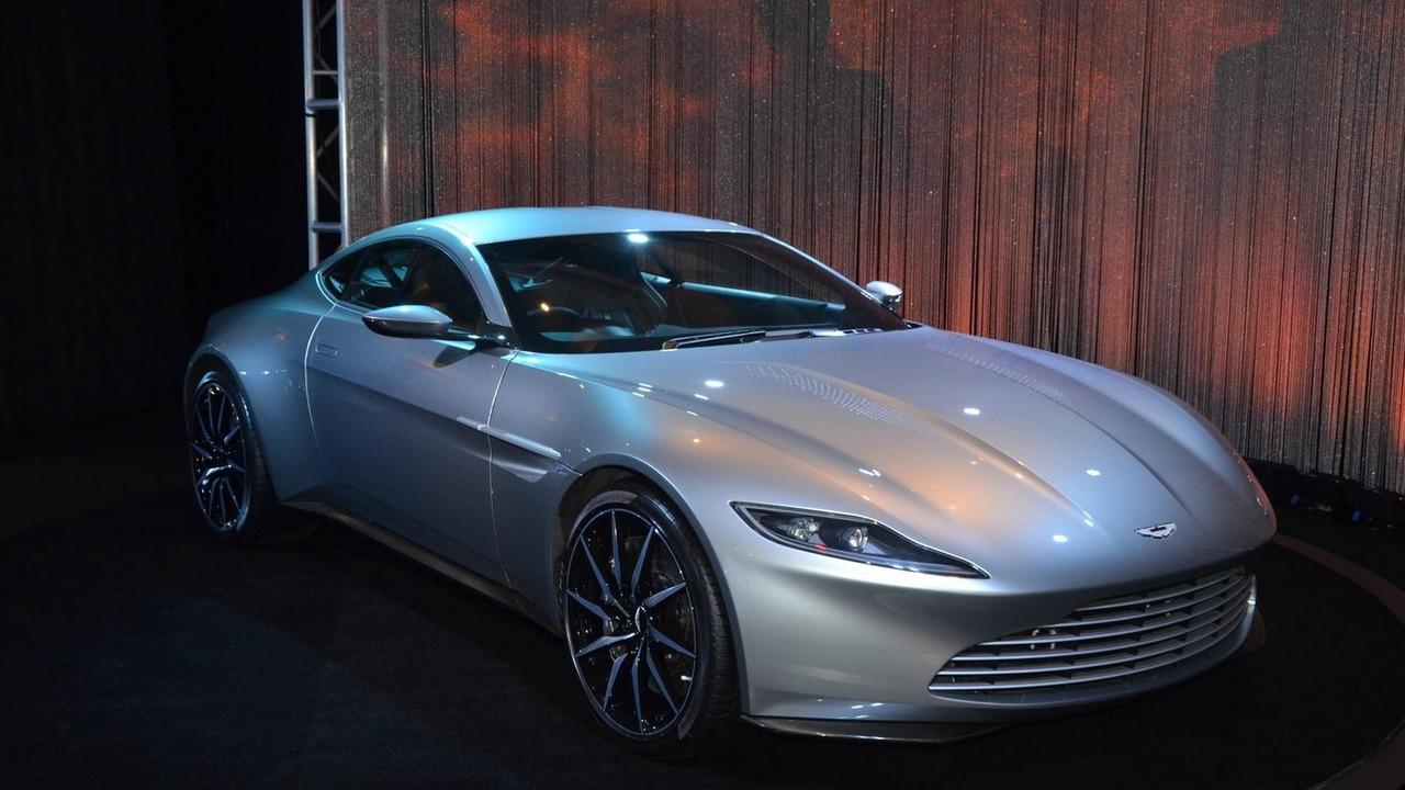 Aston Martin DB10 concept at 2015 LA Auto Show