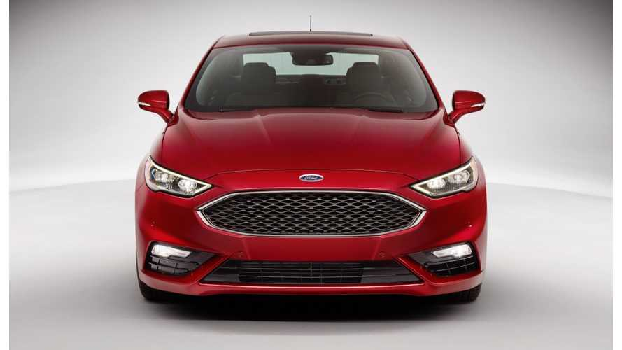 Refreshed 2017 Fusion Energi Gets Range Bump, Better MPG
