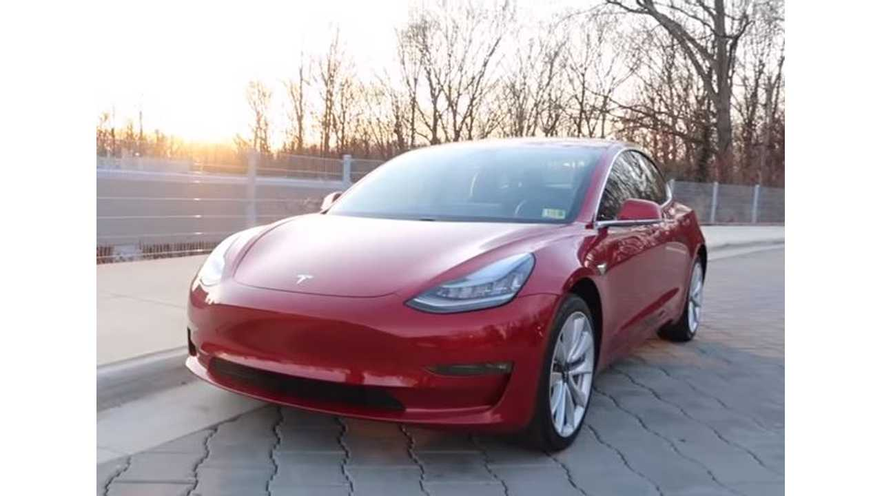 Turns Out Model 3 Was On Display At 2018 NAIAS, But Not By Tesla