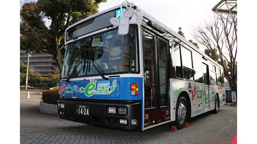 Nissan LEAF Batteries, Motors Will Power Electric Bus